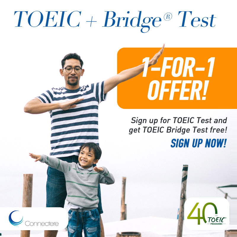 TOEIC Test, Bridge Test 1 for 1