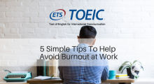 5 Simple Tips To Help Avoid Burnout at Work