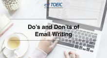 Do's and Don'ts of Email Writing