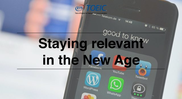 Staying relevant in the New Age